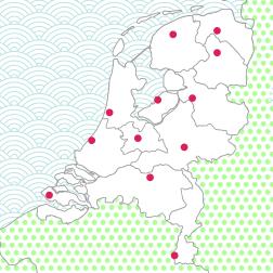 oefenen topo nederland